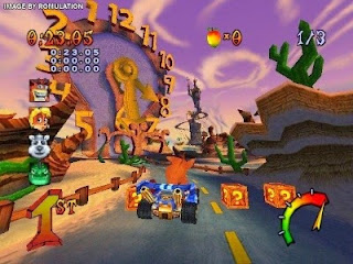Crash Tag Team Racing PS2 Iso Mega Ntsc Juegos Para PlayStation 2
