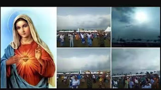 Virgin Mary Appears In Edo State During Catholic Marian Year Conference (Photos)