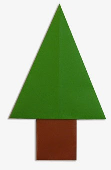 Hướng dẫn cách gấp cái cây bằng giấy đơn giản - Xếp hình Origami - How to make a wood