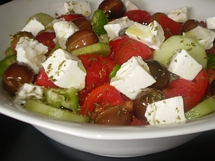 Greek (Horiatiki) Salad Recipe