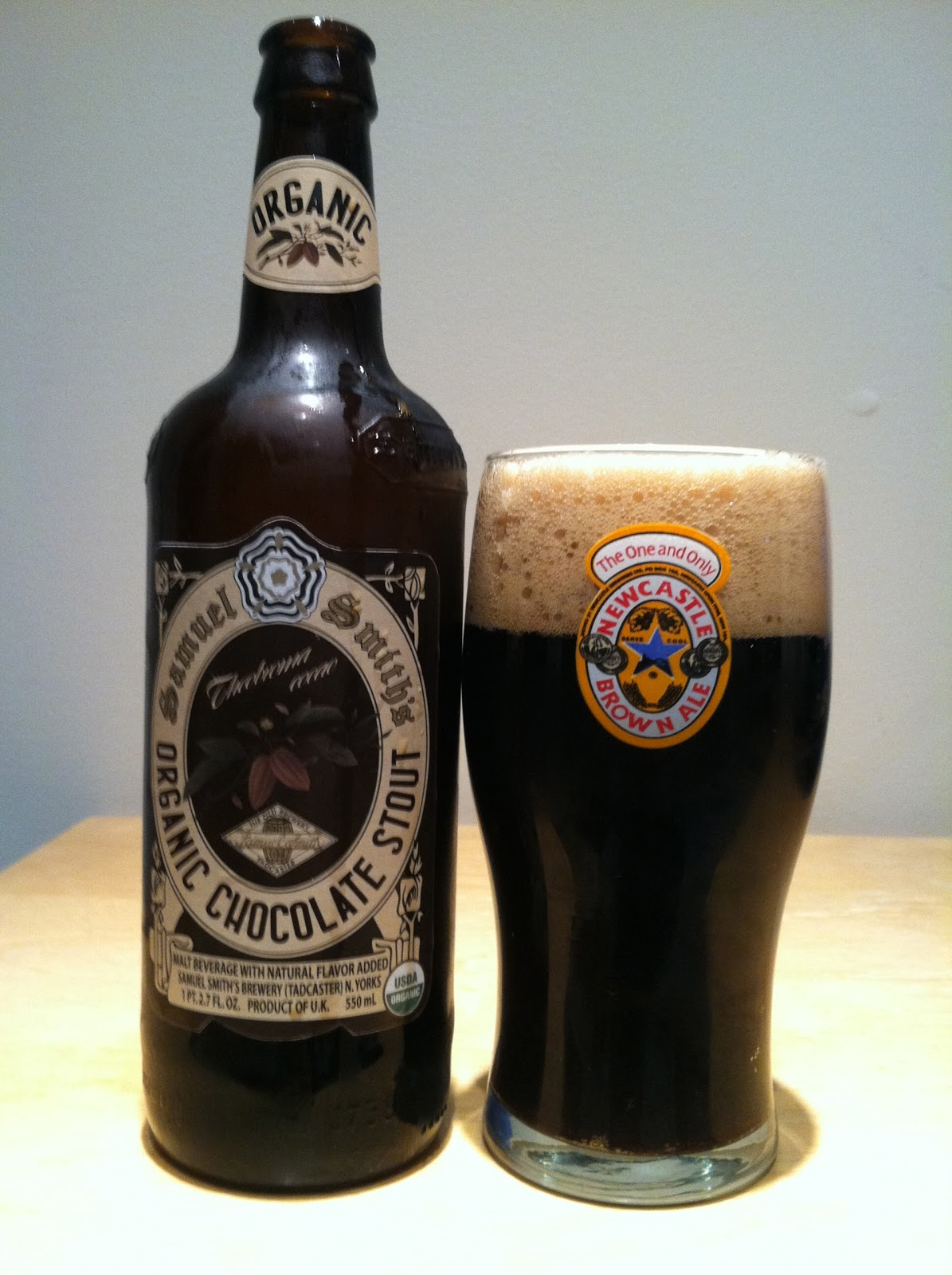 The Best Beer Blog: Samuel Smith's Organic Chocolate Stout