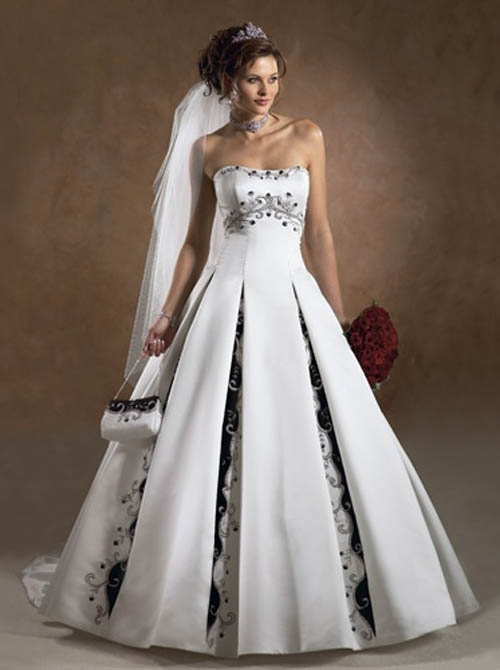 Lifestyle-Fashions: Strapless Wedding Dress