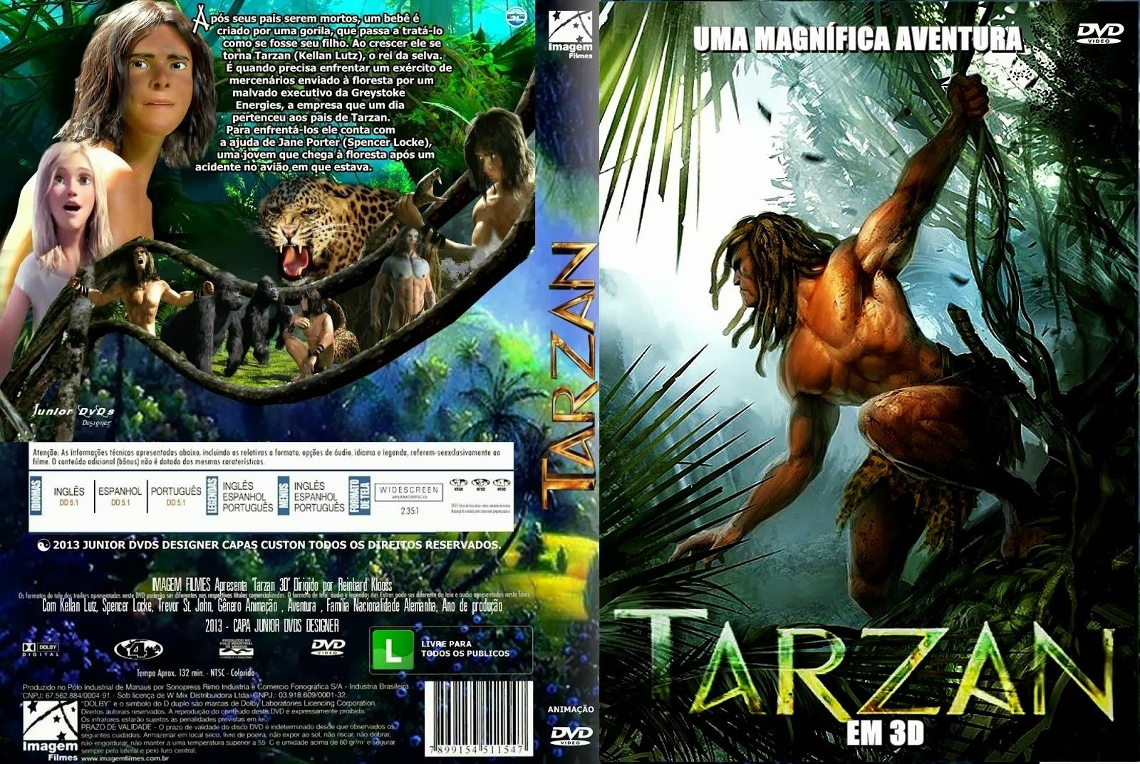 aventura animacao  Baixar Tarzan   A Evolução da Lenda  Dublado Torrent AVI Legendado Online