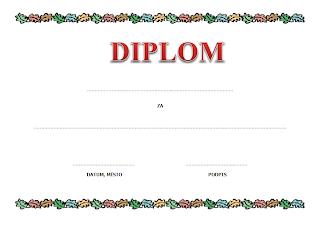 Diplom dětský