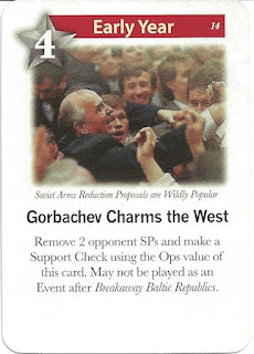 1989 Gorbachev game card