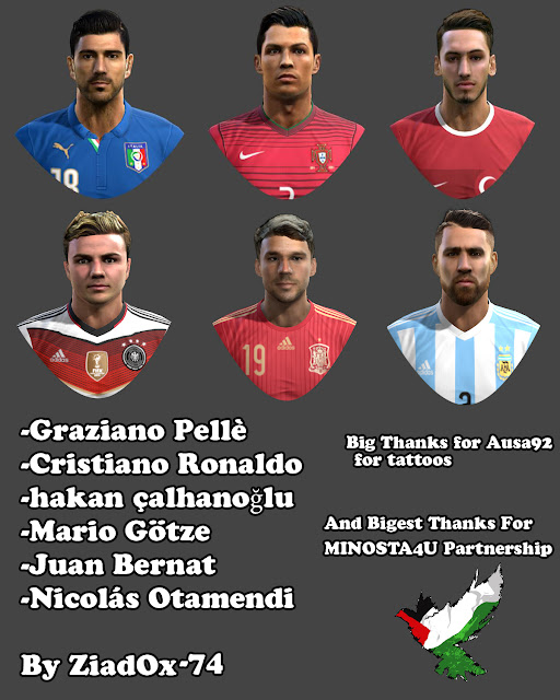 PES 2013 International Facepack By ZiadOX-74