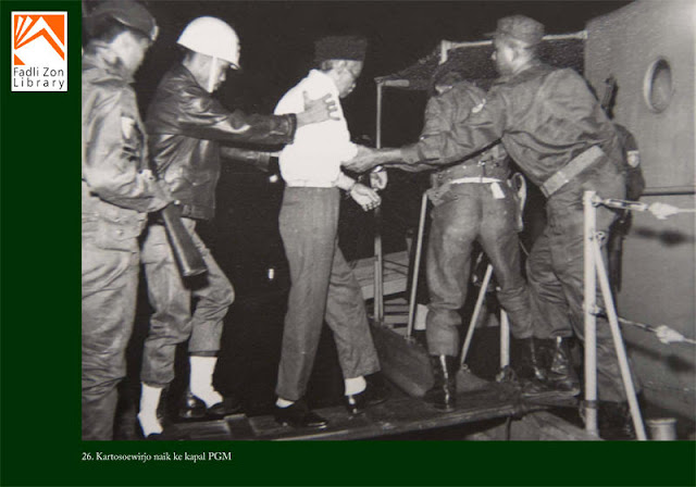 Kartosoewirjo naik ke kapal PGM
