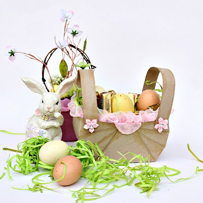 Etsy russian team how to make an easter basket for your spring treats negle Images
