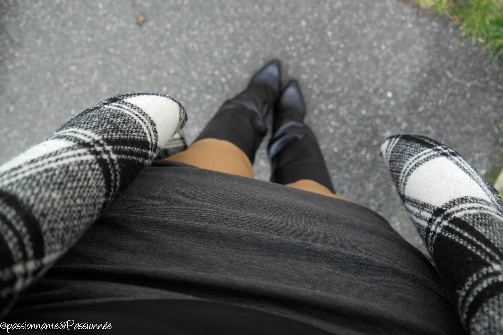 Jupe drapée DIY