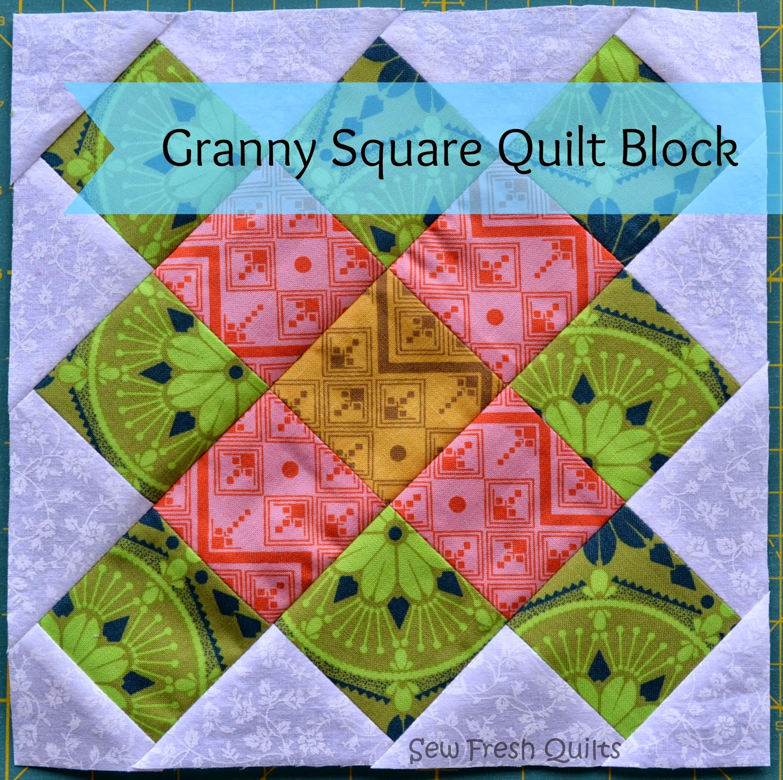Granny Square block tutorial
