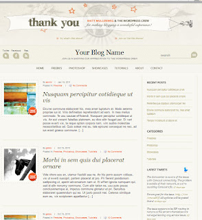 Download Thema /Template Wordpress Keren Gratis