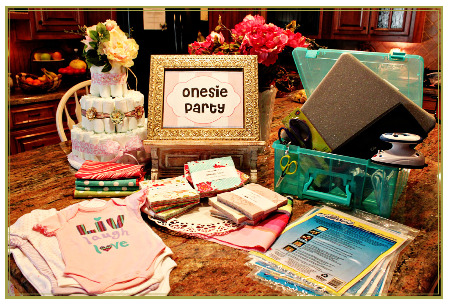 moda the cutting table a charm ing baby shower