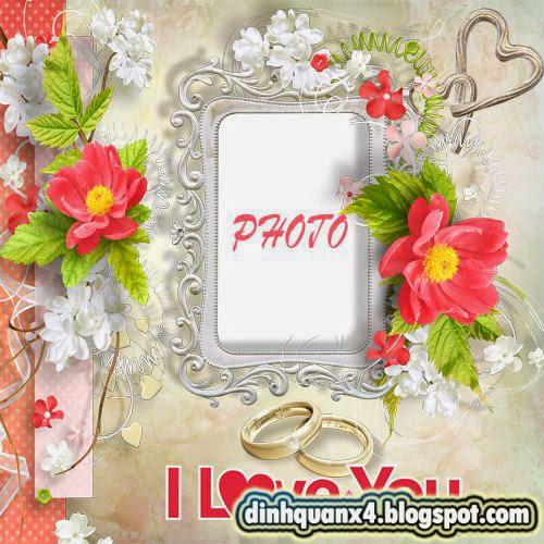 Wedding photoframe - Love for Life