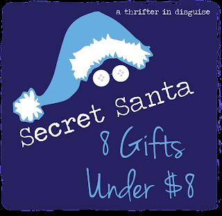 http://thrifterindisguise.blogspot.com/2013/12/secret-santa-saturday-8-gifts-under-8.html