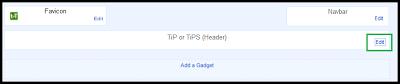 Cara memasang gambar di header blog anda