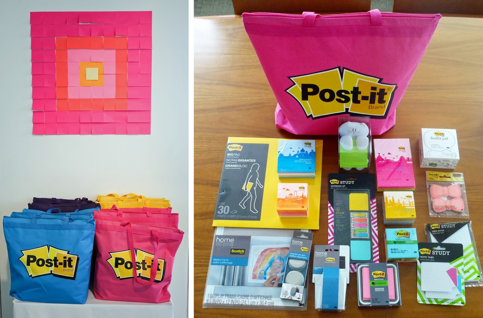 Post-it Brand Go Ahead Explore Collection - Gift Bag