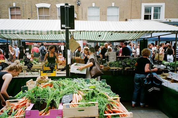 Broadway Market London UK