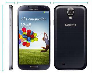 Samsung Galaxy S4 i9505 i9500 5.38 x 2.75 x 0.31 Inch Dimensions