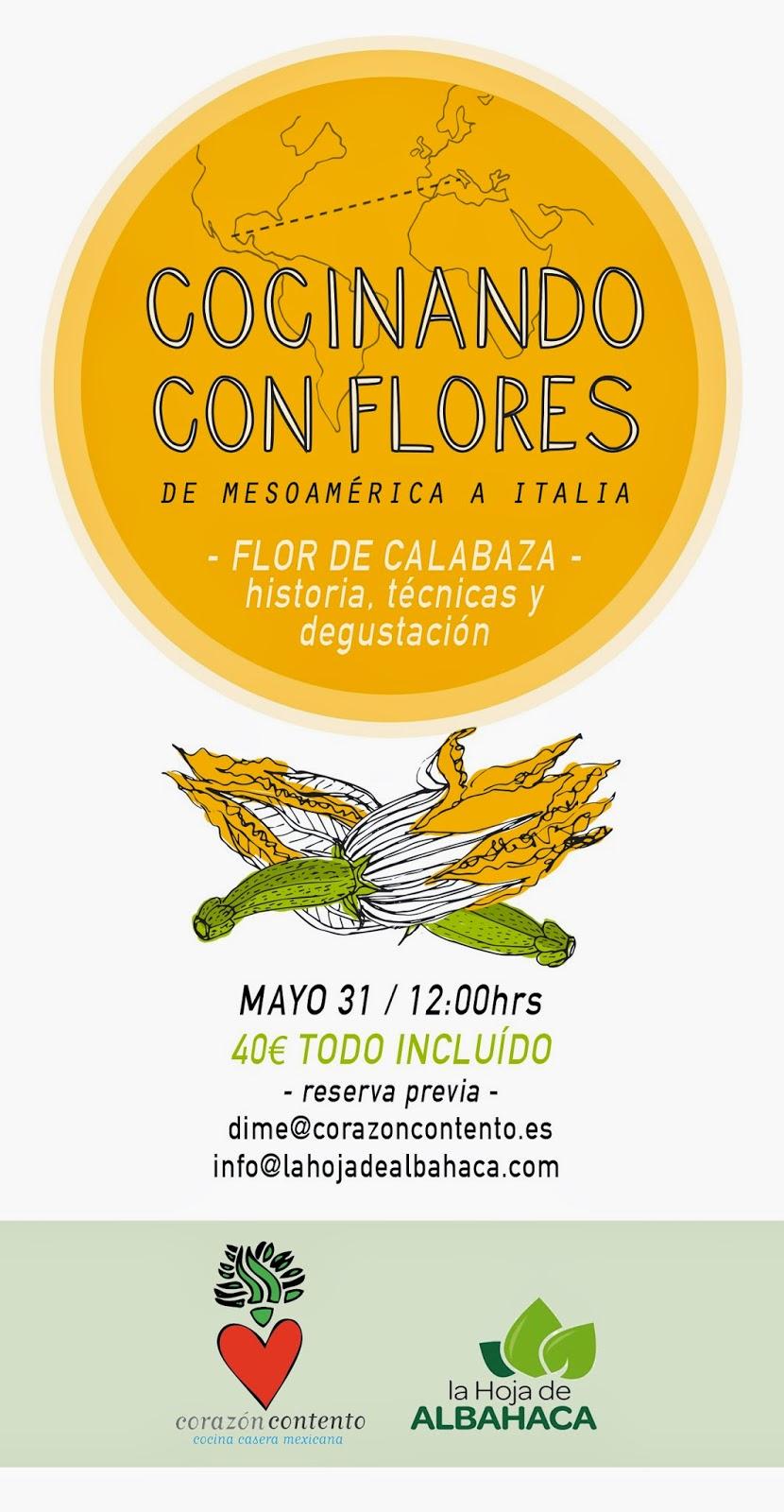 cocina, flores, recetas flores, lunch, comidas , eventos, gastronomia, flores calabaza