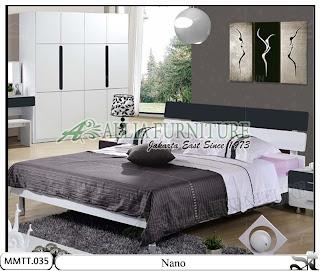 Tempat Tidur Minimalis type Modern Nano 160 X 200
