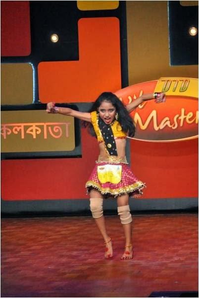 Bachachagiri at Dance India Dance Little Masters 2014 show