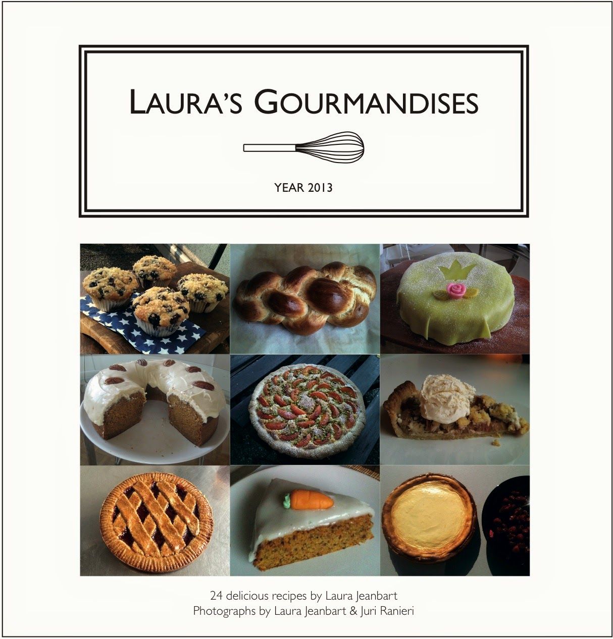 http://www.amazon.com/Lauras-Gourmandises-Laura-Jeanbart/dp/1500889717/ref=sr_1_1?ie=UTF8&qid=1427561494&sr=8-1&keywords=laura+jeanbart