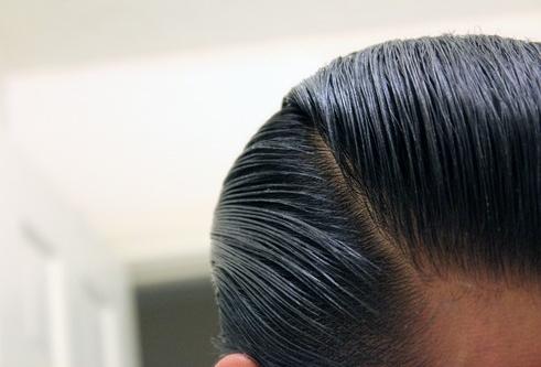 Gambar Rambut Setelah Memakai High Life Pomade Voo Doo Brew II