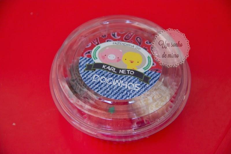 Embalagem personalizada para docinhos Um Sonho de Mimo