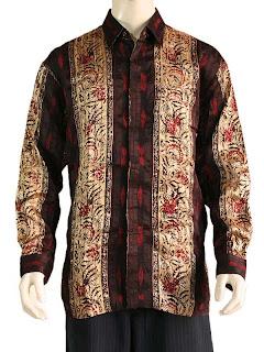Model Baju Batik  Muslim Pria Terbaru Modern