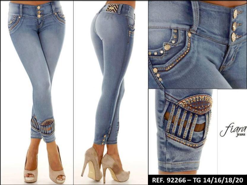 pantalones colombianos fiara