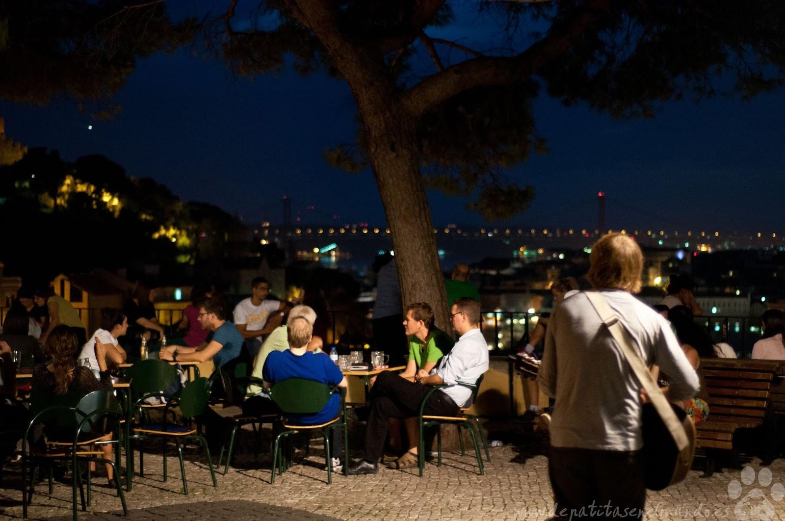 Mirador de Graca en Lisboa