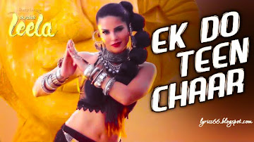 Ek Do Teen Chaar Lyrics Ek Paheli Leela