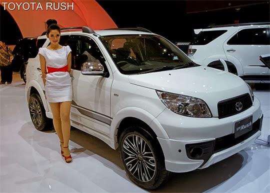 Dapatkan Penawaran Harga dan Perhitungan Kredit Toyota Rush Baru