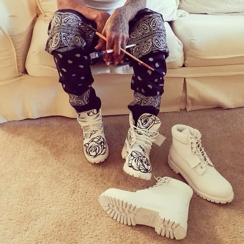 White Timberland Boots Tumblr