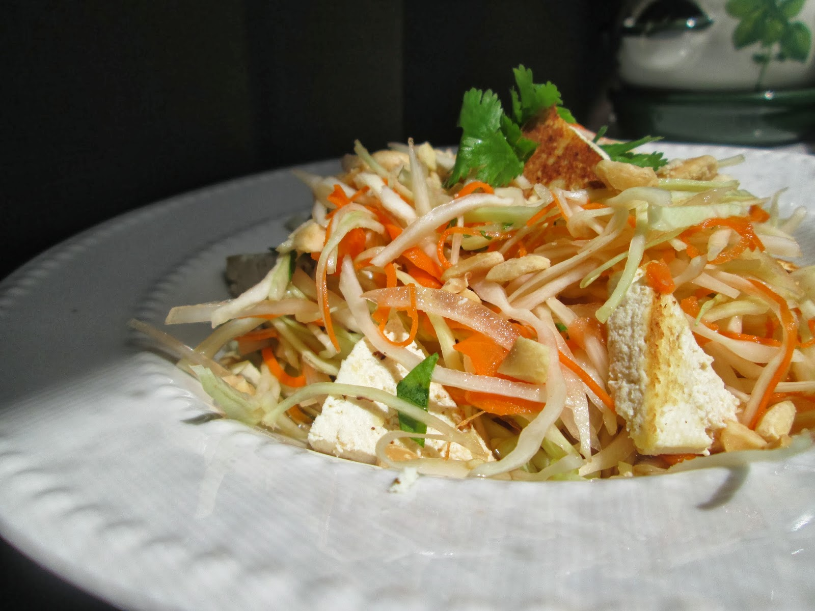 Don't Get Mad, Get Vegan!: Vietnamese Tofu Cabbage Salad