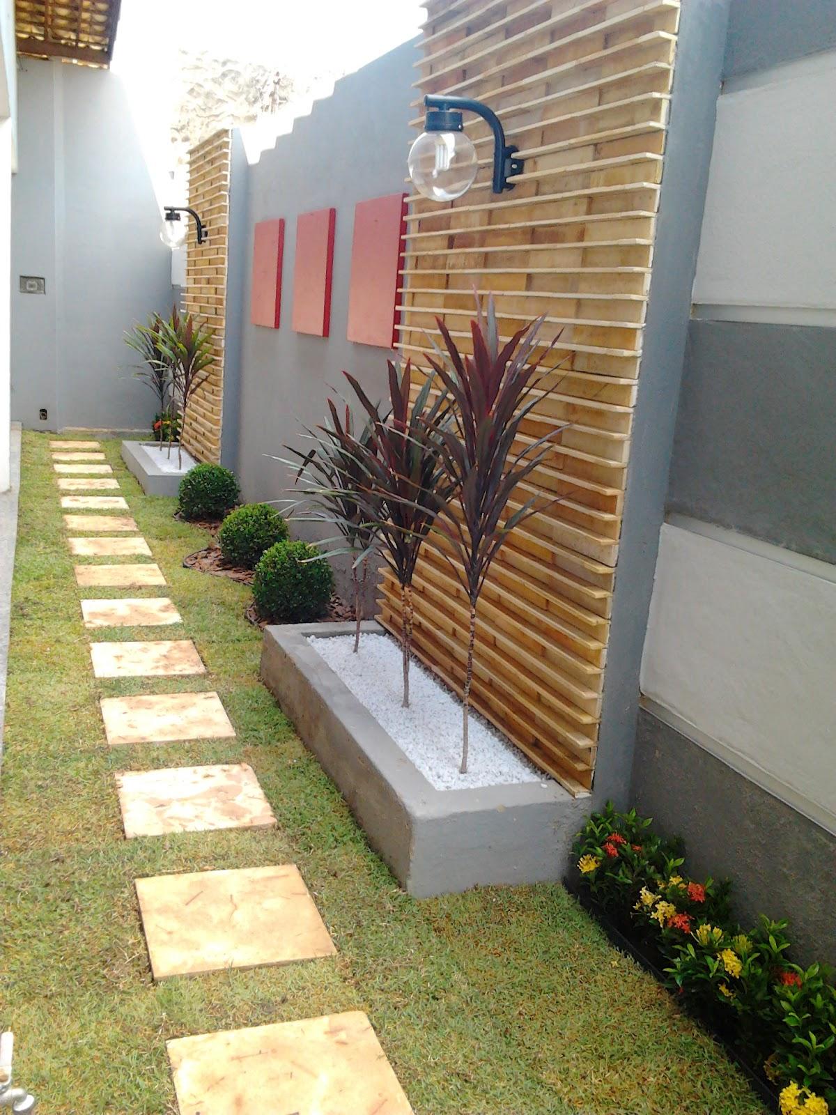 decoracao muros jardim:Decoracao De Jardins