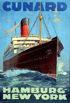etiqueta publicidad vintage barcos
