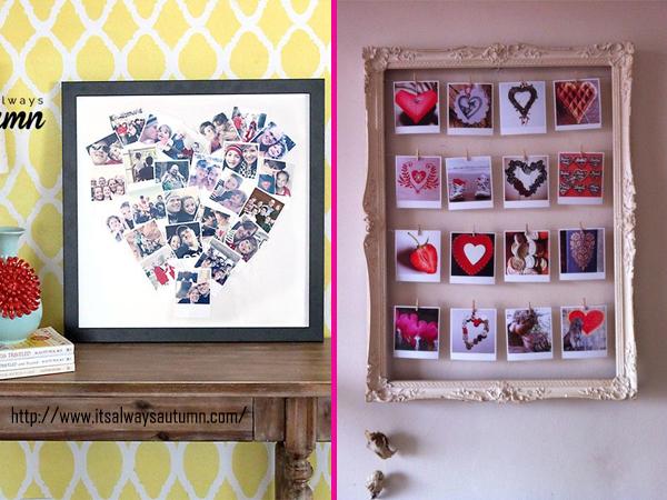 Decoração Quadros Coração Heart Home Decor Idea