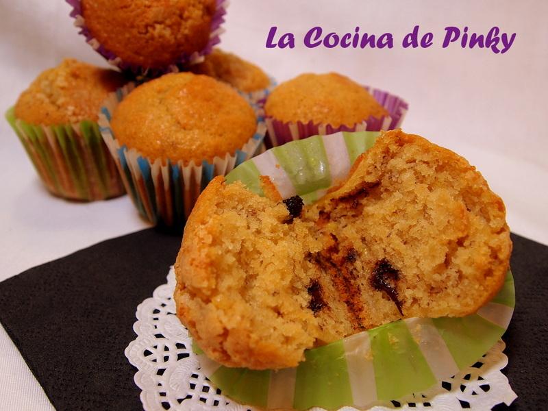 MAGDALENAS DE PLATANO Y GOTAS DE CHOCOLATE  (Candy) Magdalenas+de+platano+y+gotas+de+chocolate+2