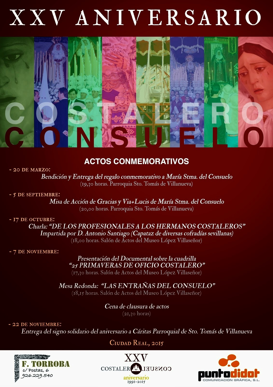 ACTOS XXV ANIVERSARIO CUADRILLA DEL CONSUELO