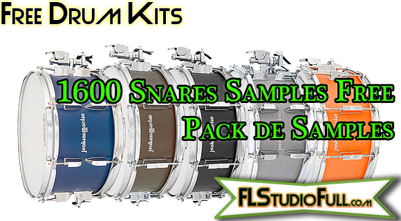 1600 Snares Samples Free - Pack de Samples