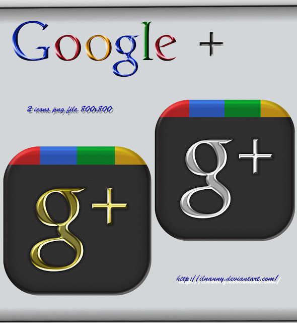 Google+ Icons Download by ilnanny