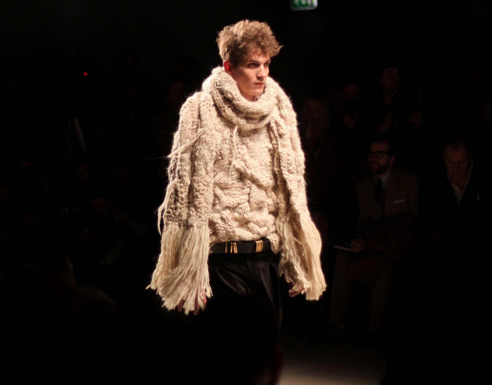 James Long AW 2012 knitwear