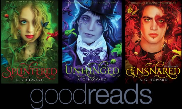 Find books on GoodReads