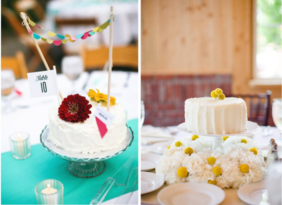 Centritavola da matrimonio alternativi, alternative wedding centerpieces, cakes wedding centerpieces