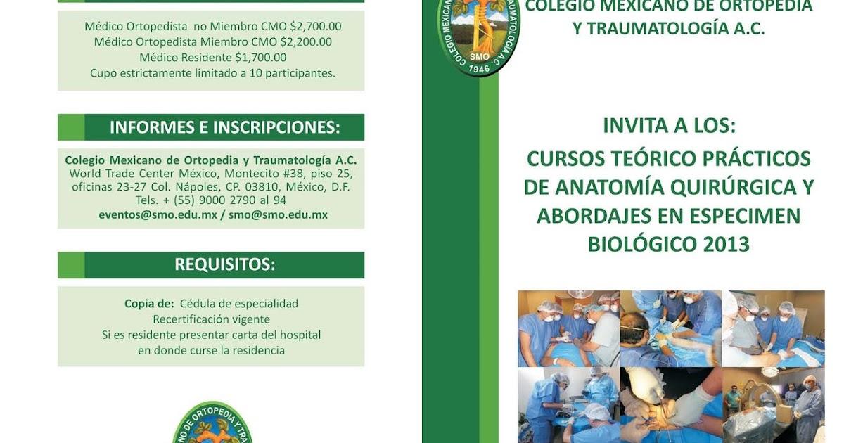 Colegio Mexicano de Ortopedia y Traumatología: Stipend applications ...