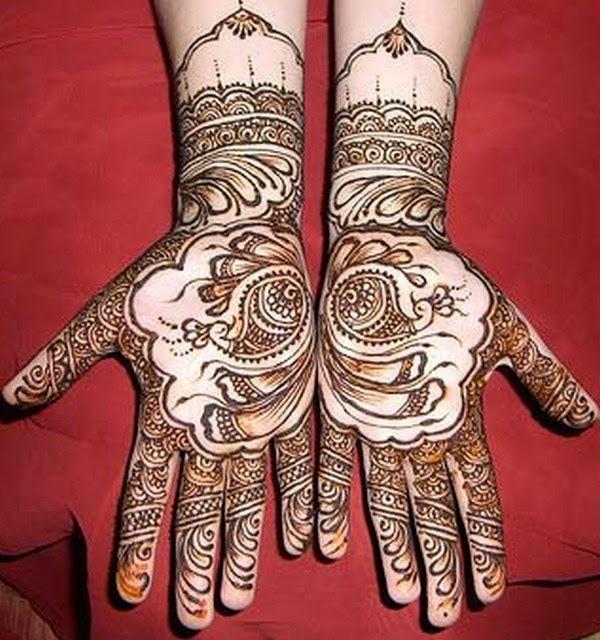 Punjabi Mehndi Designs 2014 For Girls