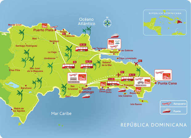 la republica dominicana: