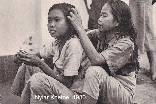 gold oriole foto indonesia tempo dulu nyari kutu