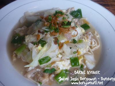 Kuliner Bandung - Bakmi Jogja Bengawan